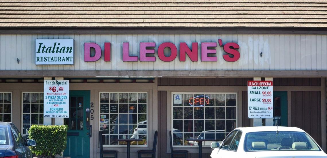 Di Leones El Cajon Italian Restaurant